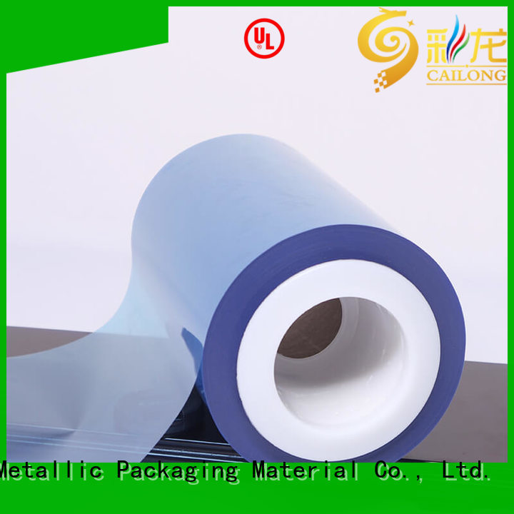 Cailong environmental  plastic film for packing foor