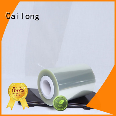 Cailong pet clear plastic film free quote for medical packaging