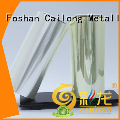 static polyester pet film long-term-use for shopping bag Cailong