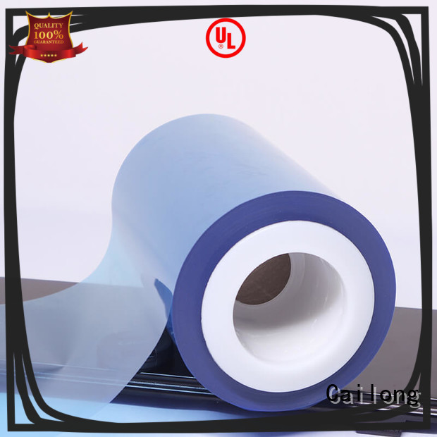 Cailong environmental  colored mylar rolls pet for printing