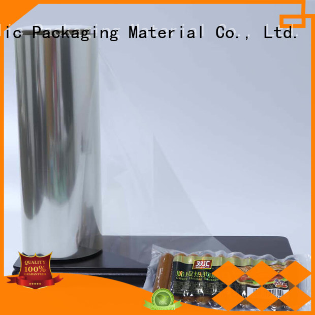 High Transparent plastic film anti factory price used for labels