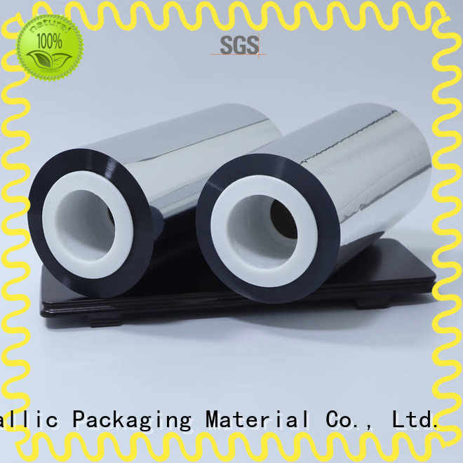 metallized metallized polyester film bulk production for medical packages