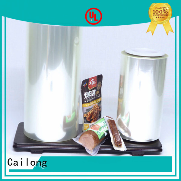transparent foil alox for coffee Cailong