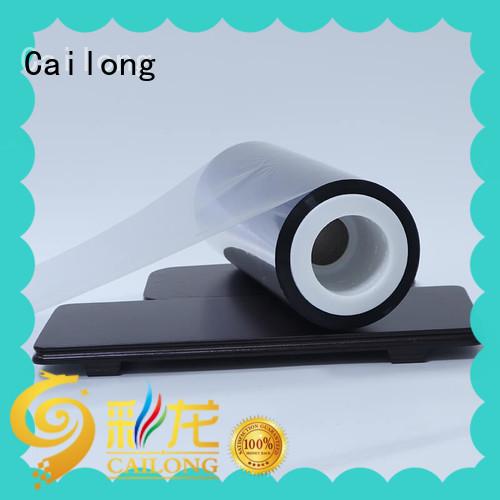 Cailong water vapour metallic film for sale ffor Decorative