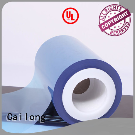 Cailong Color Coating colored polyester film matte for advertising