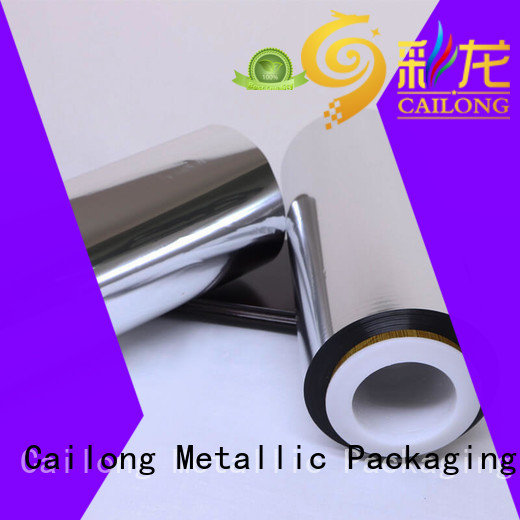 fabric metallised pet inquire now used for stickers Cailong