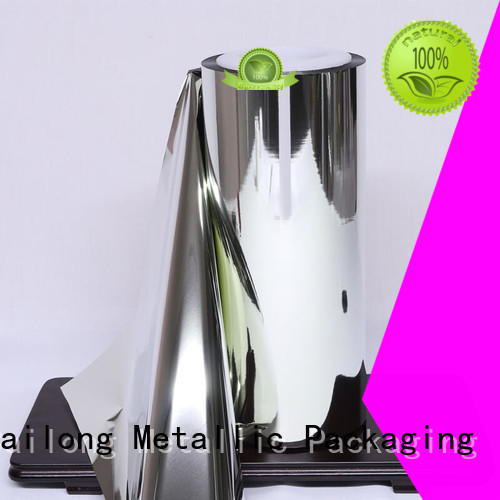 Multiple Aluminum metallized polyester film vacuum at discount for medical packages