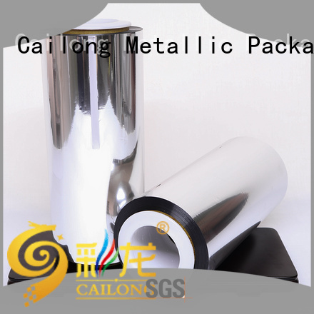 Cailong polyester metalize film for sale for product