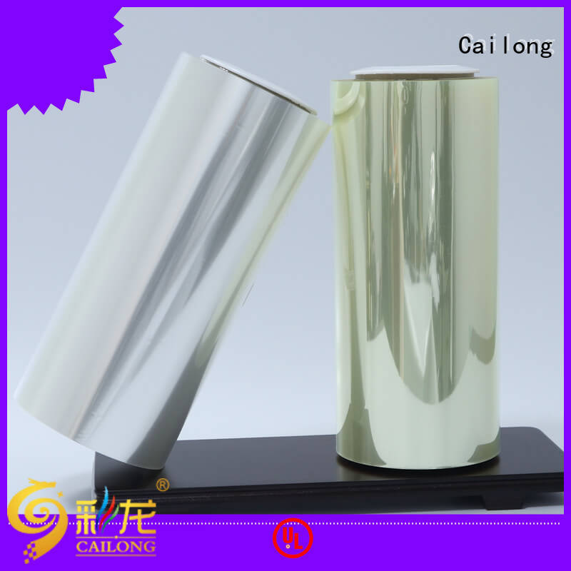 High Transparent polyester film petrf factory price decorative materials