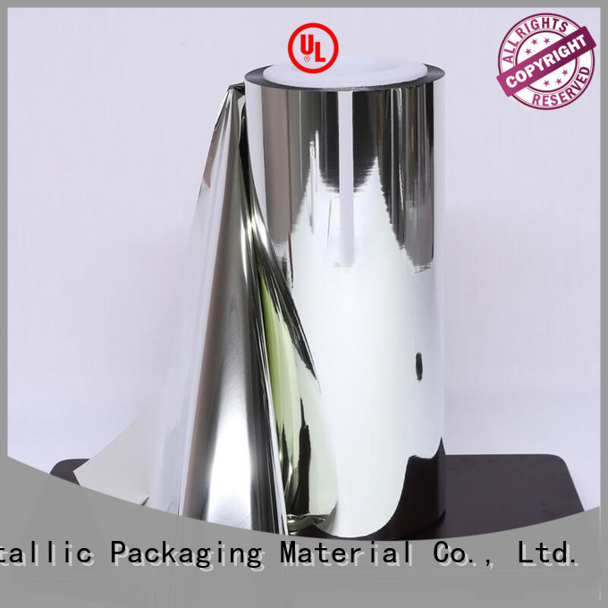 fine- quality reflective metalized film bopp bulk production used for medicine