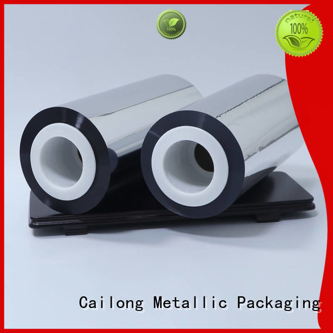 Cailong grade metallized polyester film used for stickers