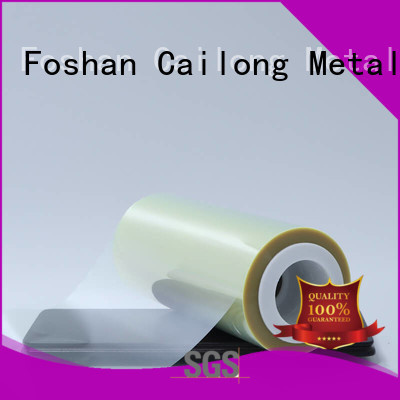 Cailong Plain clear polyester film chemical decorative materials