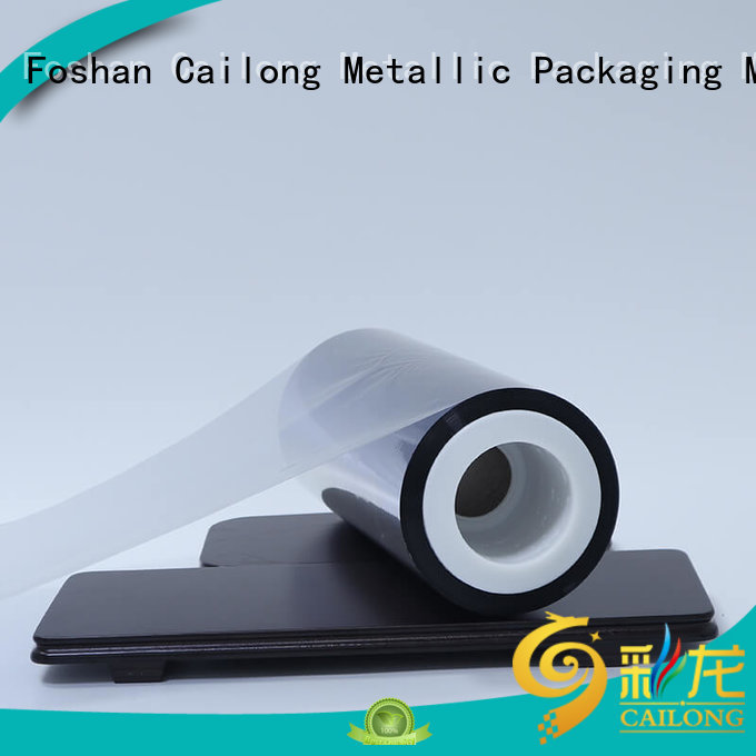 Cailong Anti- Explosion pet metalized marketing for product