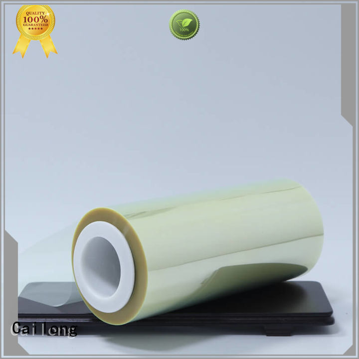 Cailong Plain transparency film supplier for stickers