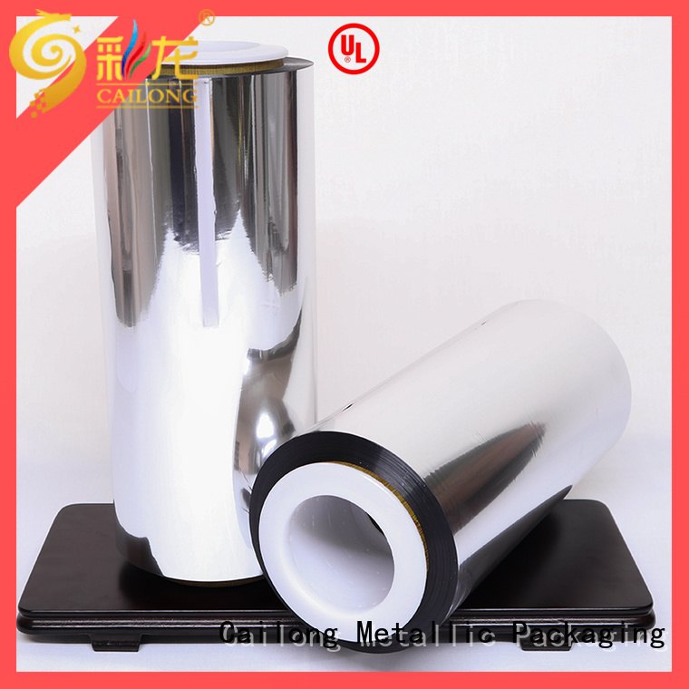 Cailong Anti- Explosion metalized film food packaging anti for meat