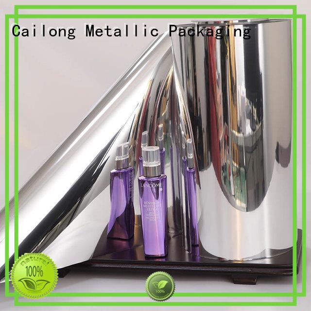 Vacuum metallized pet film type ffor Decorative