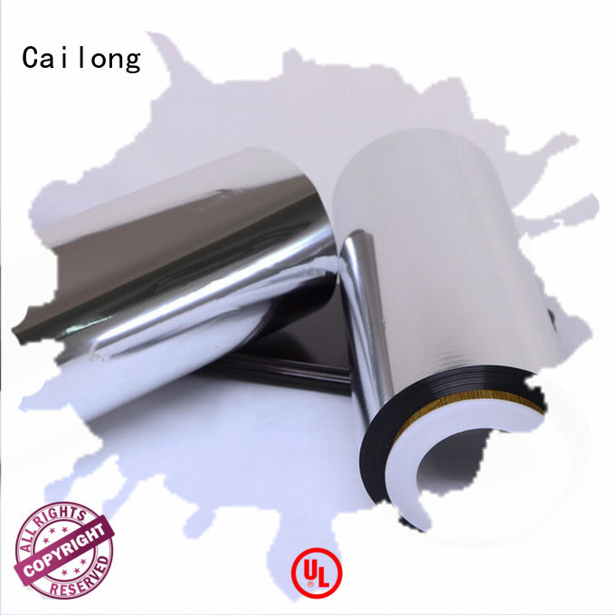 Cailong Multiple Aluminum reflective metalized film used for labels