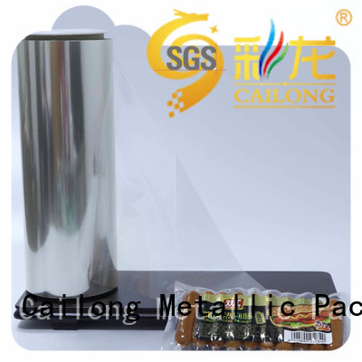 Cailong transparent anti static film long-term-use for medical packaging
