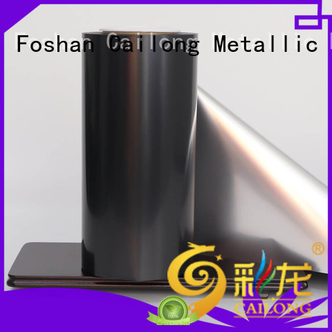 Cailong Anti- Explosion metalized film for sale ffor Decorative