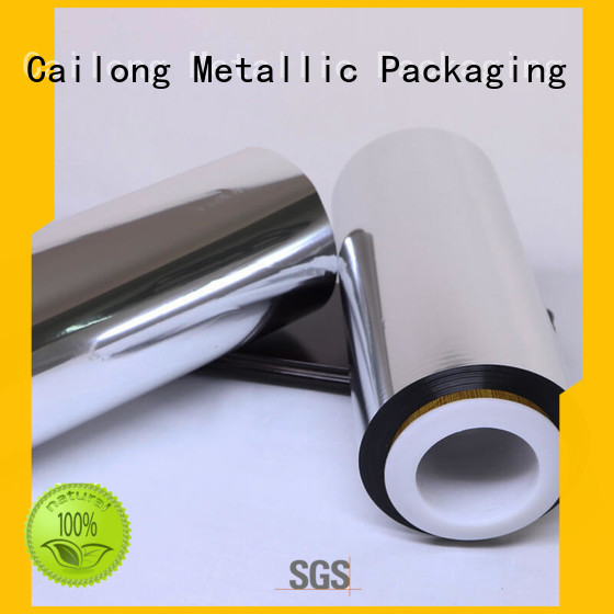 Cailong multiple metalized plastic film inquire now used for stickers