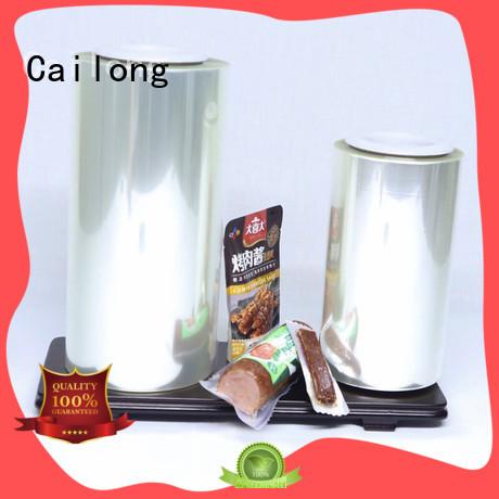 transparent film pet protective for dried fruit Cailong