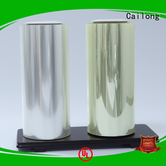 Cailong High Barrier thin polyester film vendor for sporting goods
