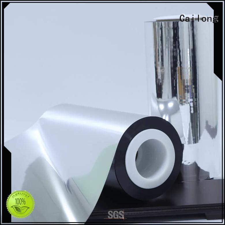 Cailong half metallised film effectively ffor Decorative