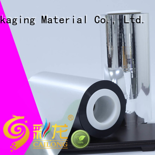 Cailong anti metallised polyester experts ffor Decorative