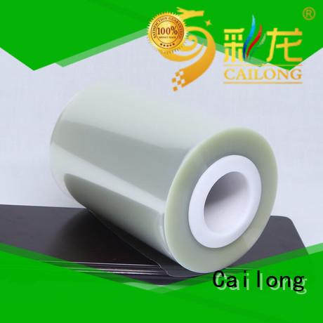polyester pet film petrf decorative materials Cailong