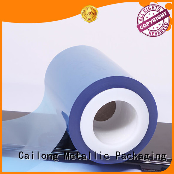 Cailong Original pvc film  supply for packing foor