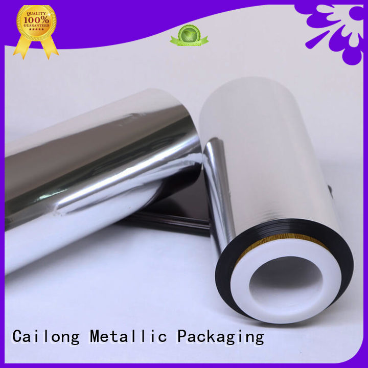 Cailong awesome metal film factory price for advertising
