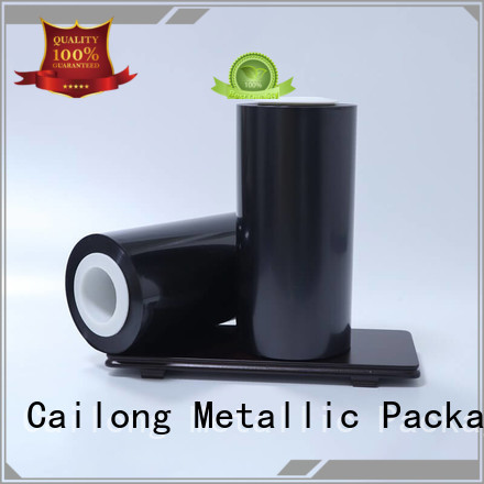 Cailong environmental  colored mylar rolls factory for printing
