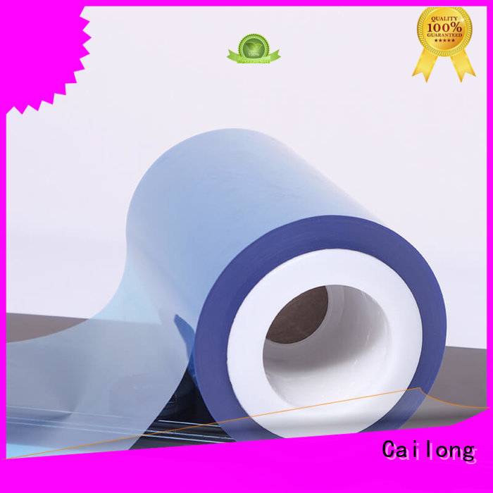 Cailong effective plastic film factory for printing