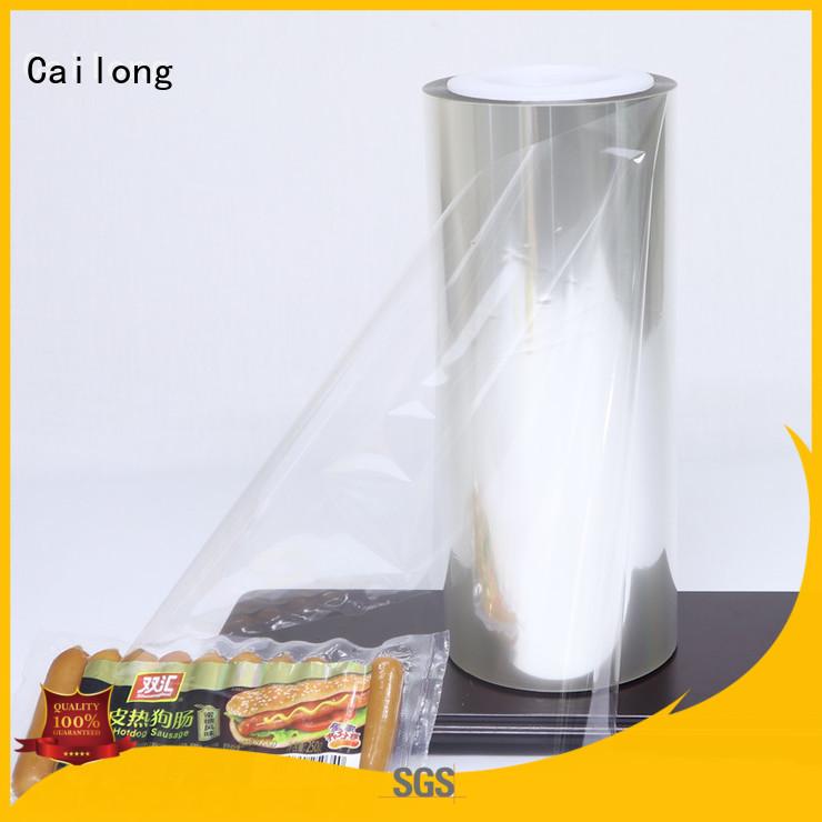 Cailong petaloxtz barrier films for food packaging improvement for candy