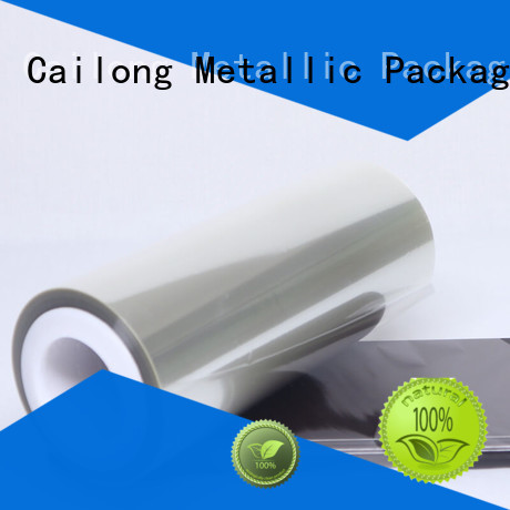 polyester film roll release for stickers Cailong