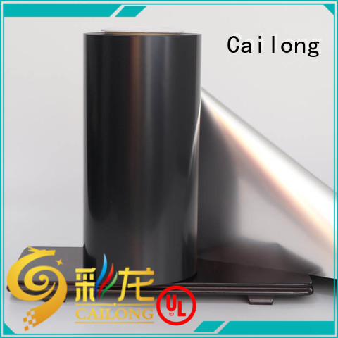 Good Thermal Insulation metalized polyester film metallizing supplier used for stickers