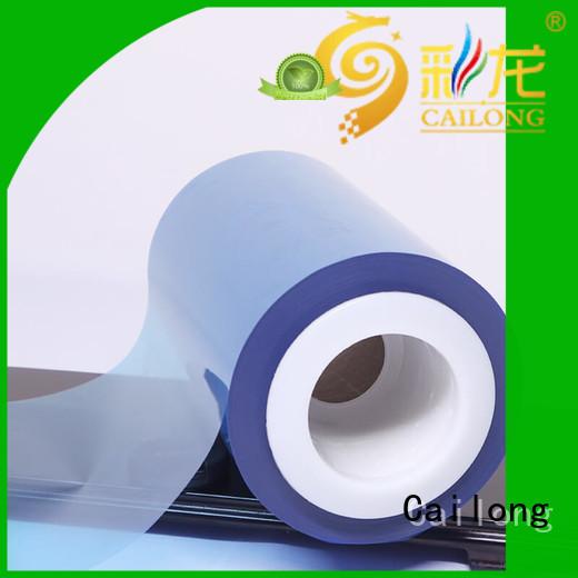 original color transparency film pet for materials Cailong