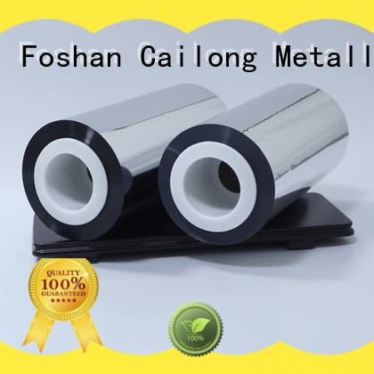 Cailong also metallized film for wholesale used for stickers