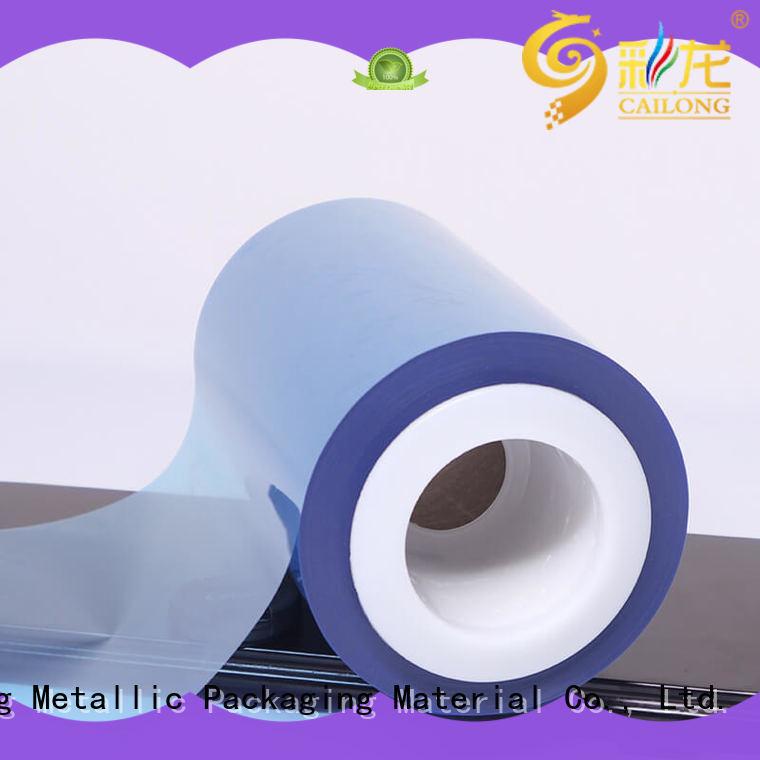 Cailong matte clear pet sheet wholesale for cosmestics