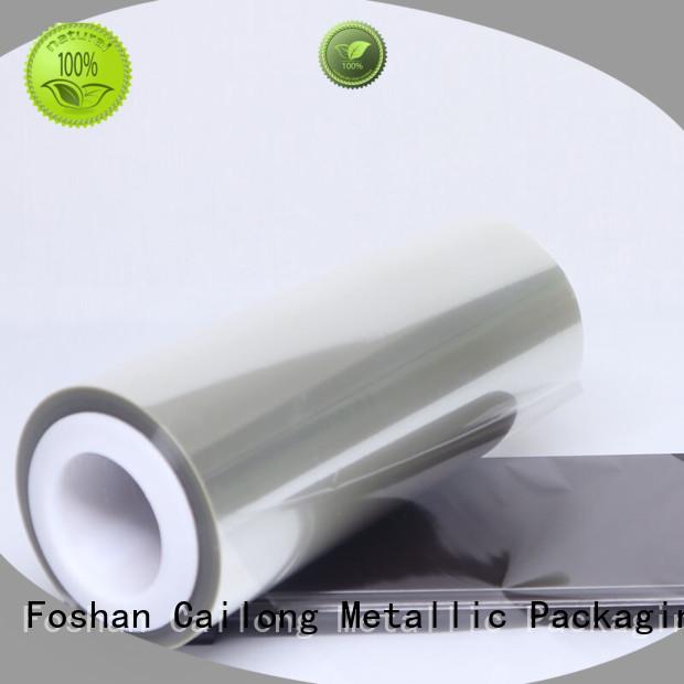 sealable pet film material free design decorative materials