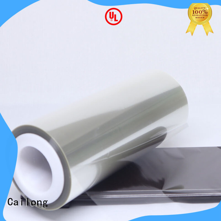 Cailong humanized clear plastic film factory price decorative materials