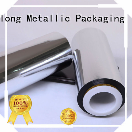 Cailong cpp metallized plastic free design for decorative materials