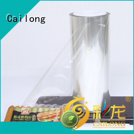 Printable transparent pet film supplier for candy
