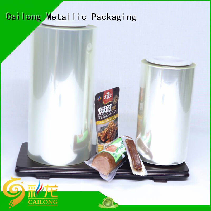 Cailong film high barrier packaging films supplier for candy