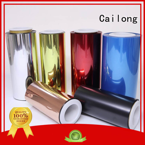 blue colored window film for labels Cailong