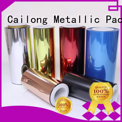Cailong effective transparent color film factory for advertising