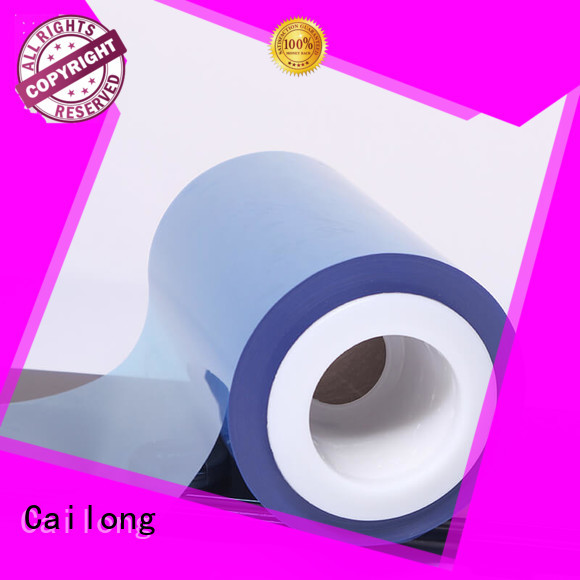 Cailong original color transparency film certifications for materials
