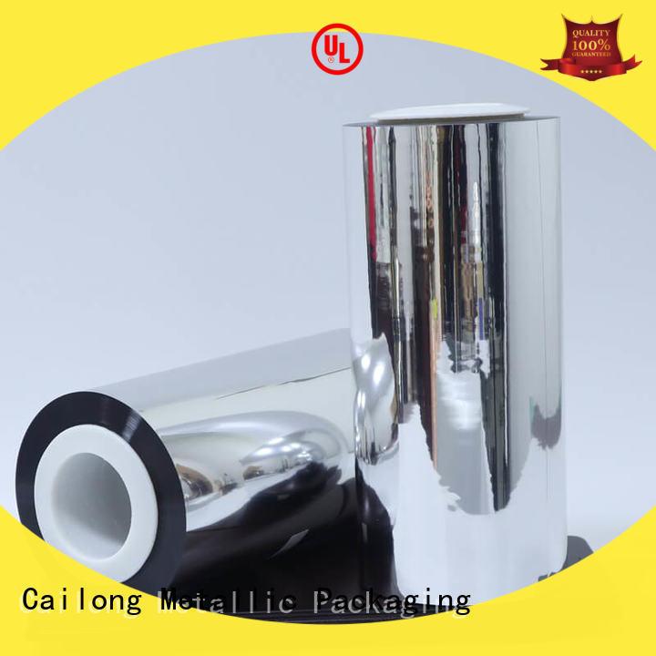 UV light protection metalized polyester film stripe for sale ffor Decorative