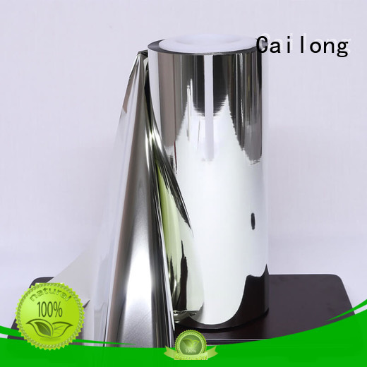 pet reflective metalized film at discount for cosmesics