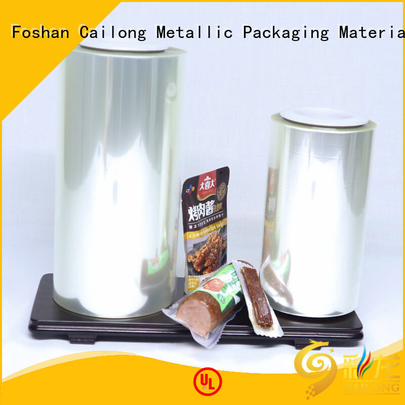 Cailong High Barrier alox film management for tea